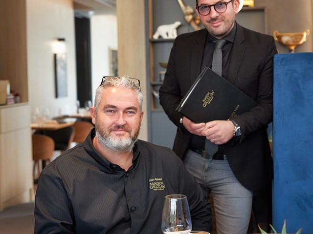MAISON GRIZLAW Le chef Éric Richard et le directeur Brice Gandré