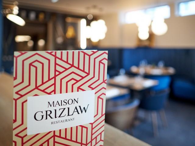 MAISON GRIZLAW Le menu et notre profession de foi